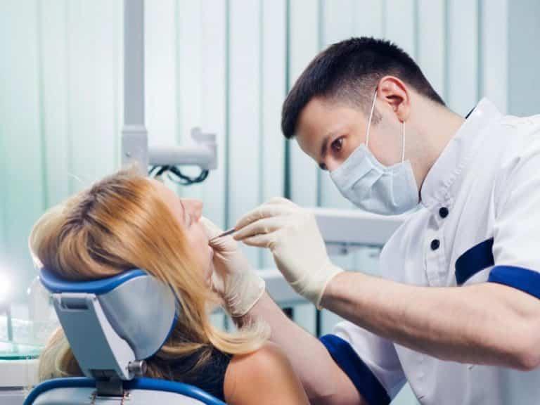 Этапы подготовки зуба к наложению пломбы