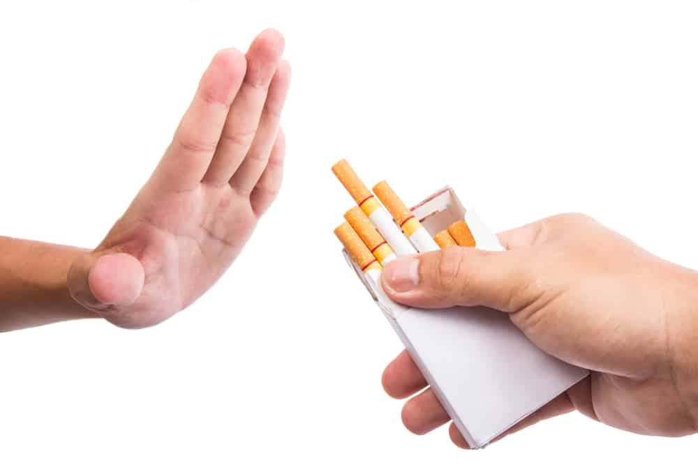 Курение после чистки