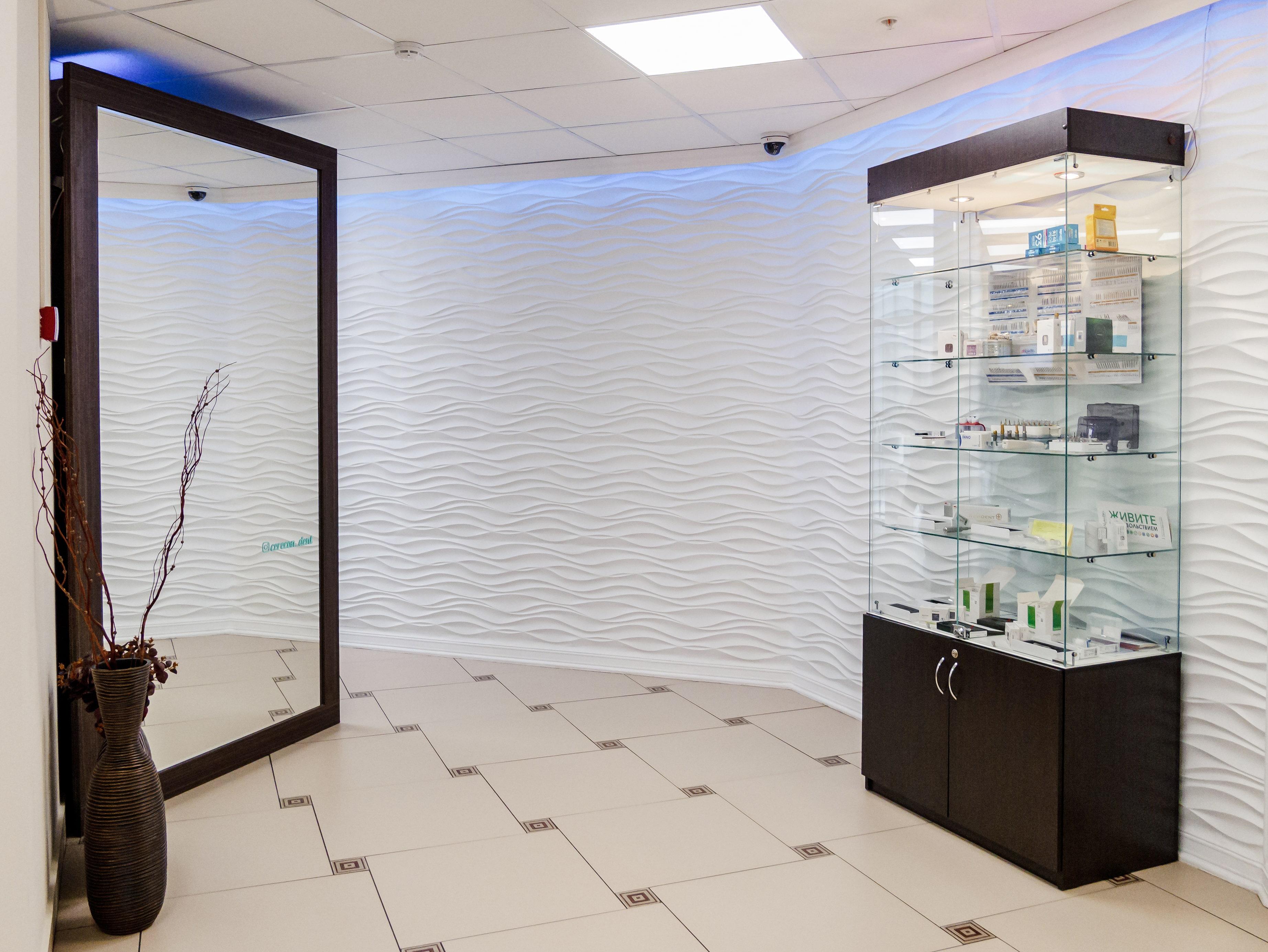 Интерьер стоматологического центра Церекон