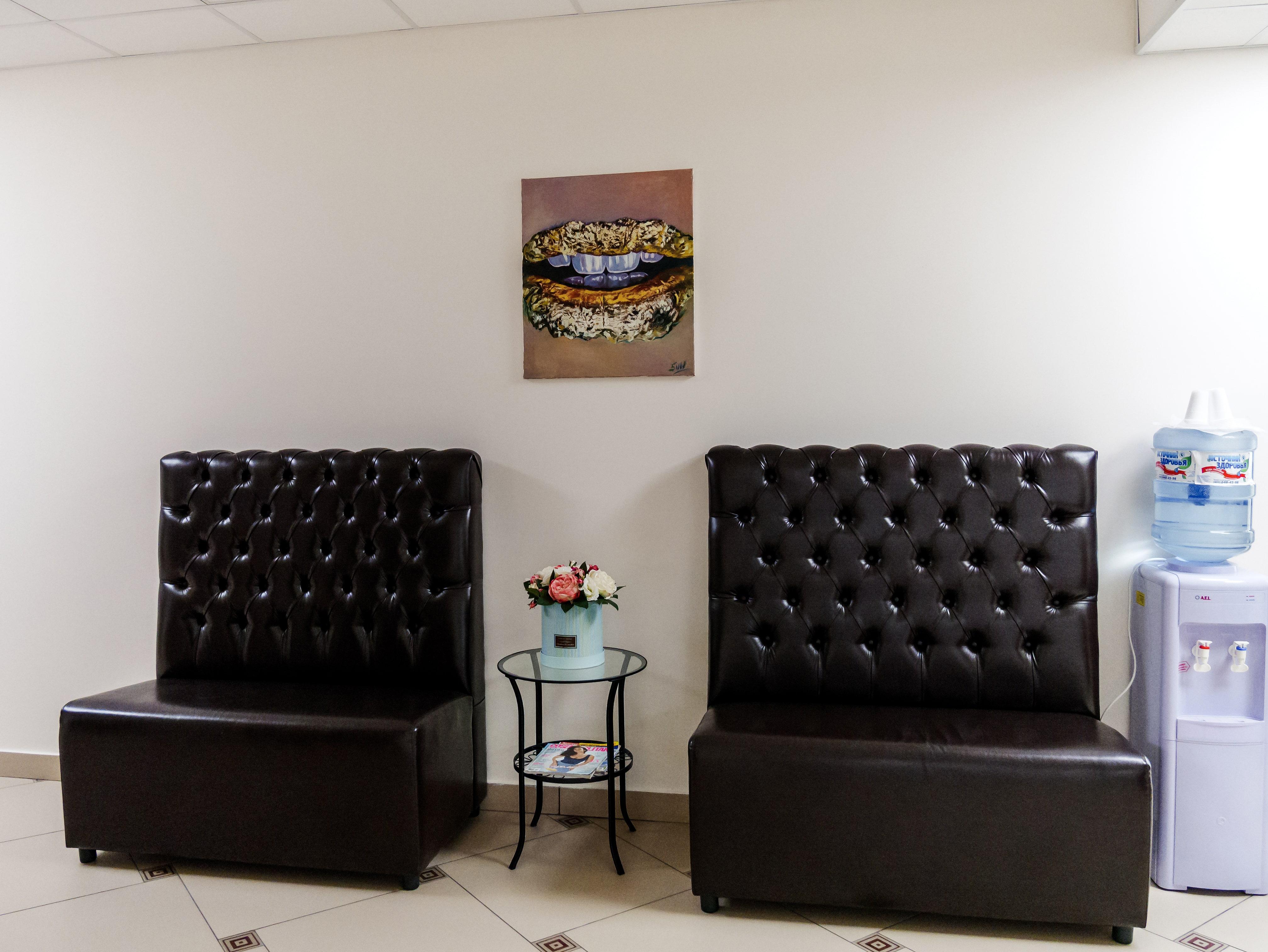 Место отдыха для пациентов в стоматологии Церекон