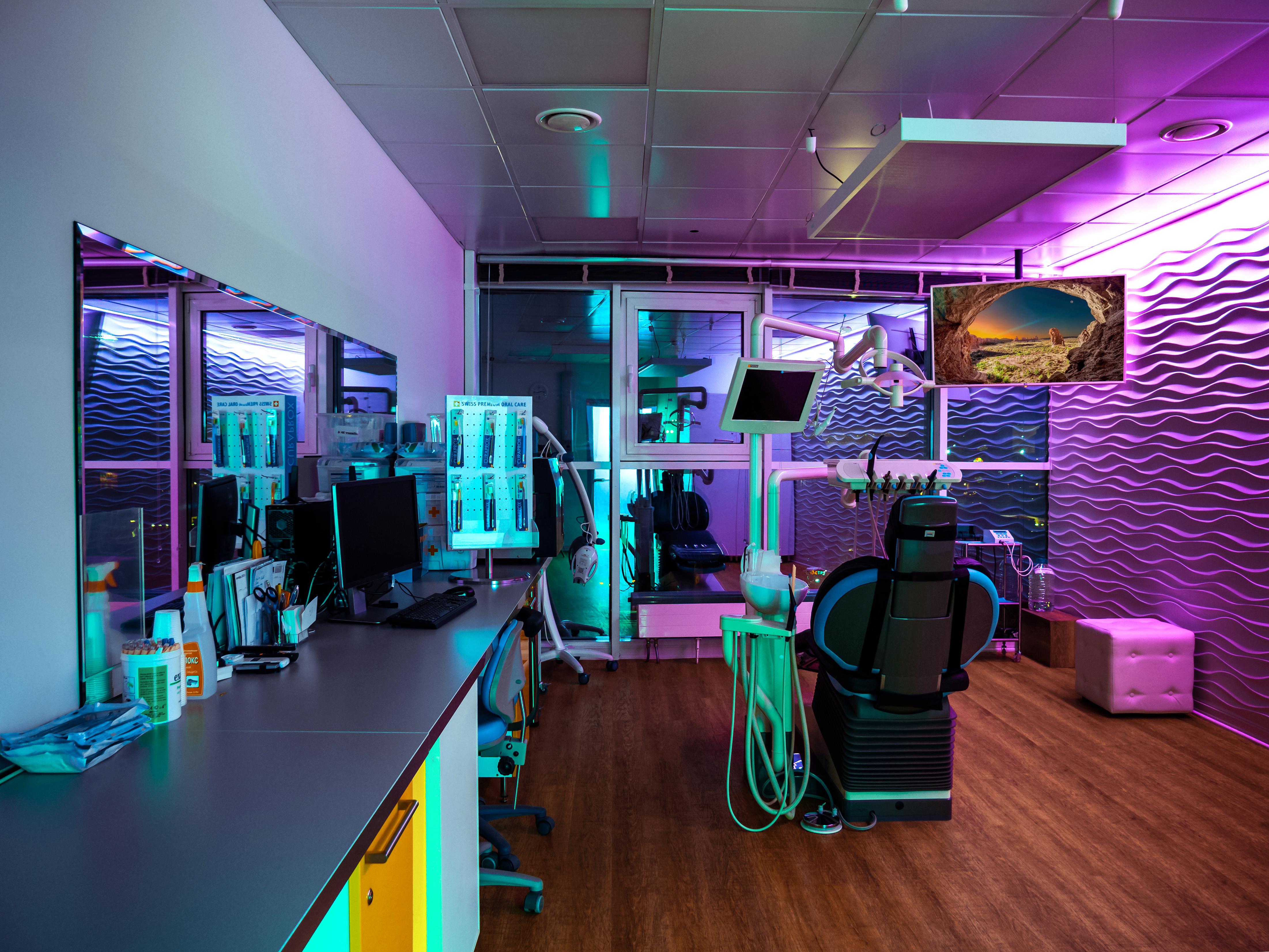 Кабинеты клиники Церекон