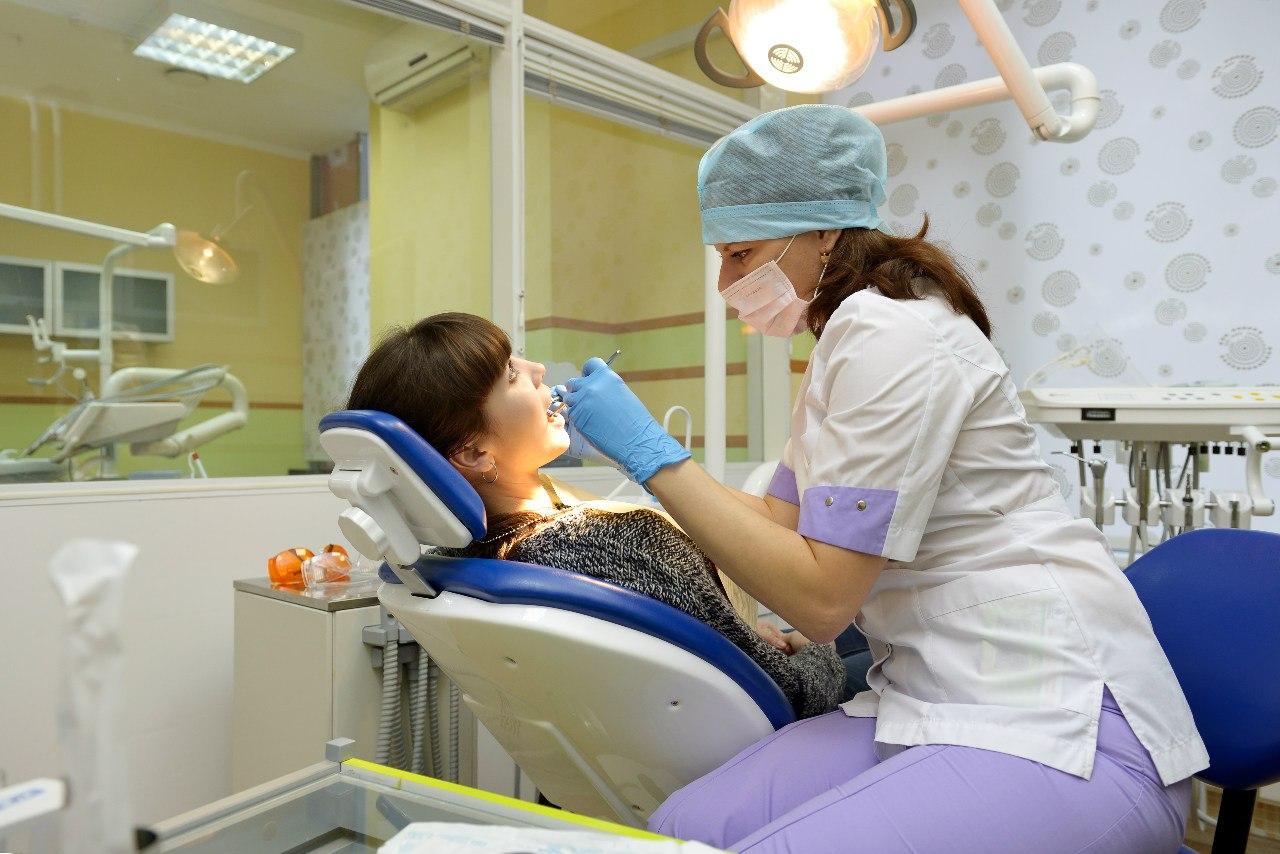 Удаление поверхностных тканей зуба